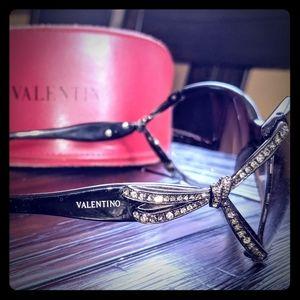Valentino 5628/S Rhinestone Sunglasses
